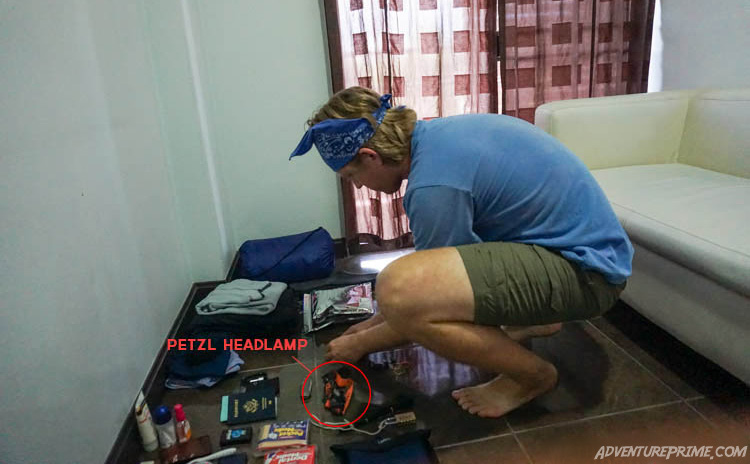 Petzl-headlamp-Fox-Conor-Thailand