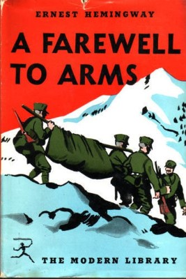 A Farewell to Arms Ernest Hemingway cover
