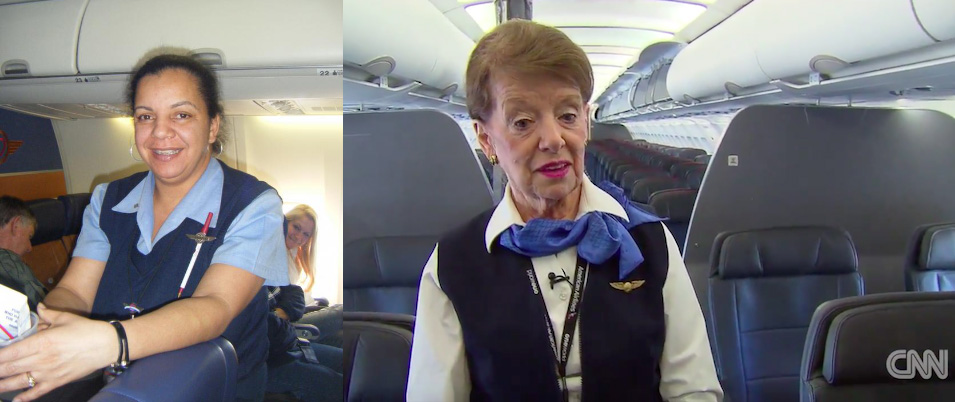American flight attendants ugly