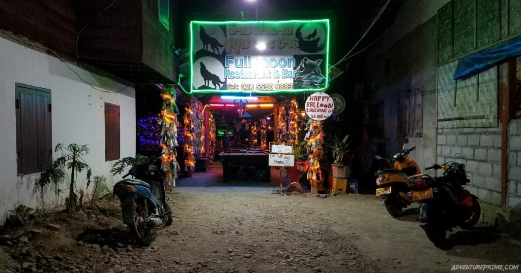 Full Moon Bar Vang Vieng Laos
