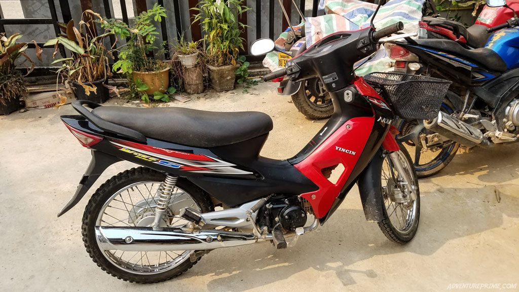 Honda wave clone scooter laos