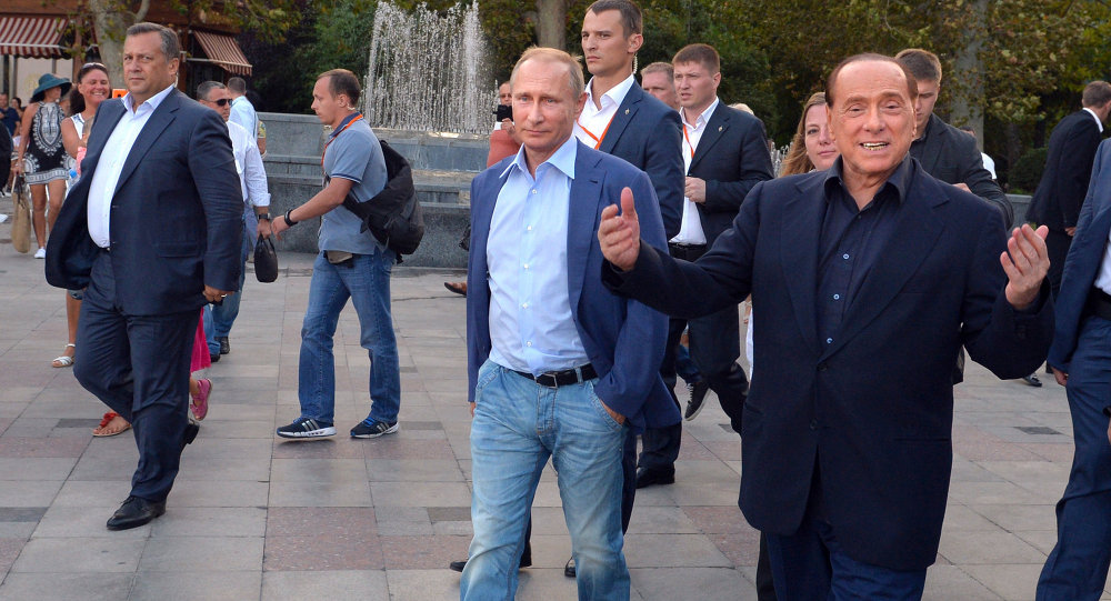 Putin sports jacket and jeans