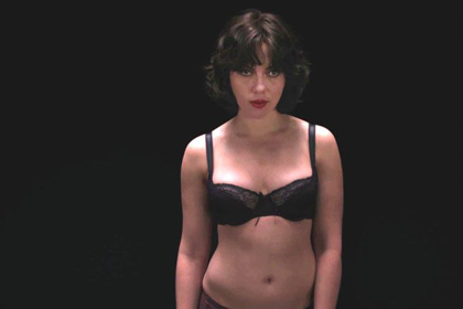 Scarlett Johansson Under the skin seduction w