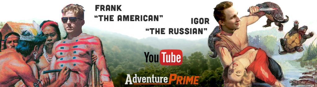 YouTube promotional banner Adventure Prime