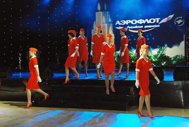 aeroflot flight attendants