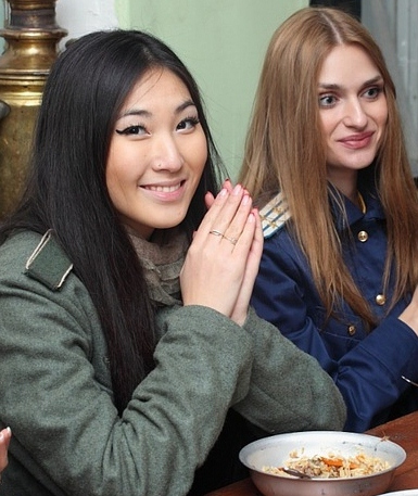 beautiful asian russian girl